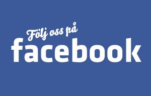 Följ oss på Facebook!